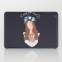 We Were Born To Die iPad Case