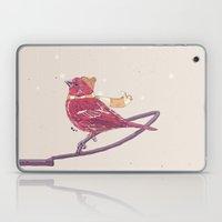 Winter Finch Laptop & iPad Skin