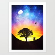 When The Stars Were Shin… Art Print