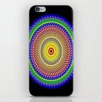 Carnival Mandala iPhone & iPod Skin