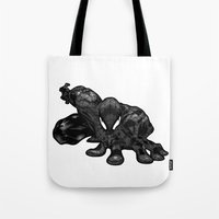 Spiderman B&W Tote Bag