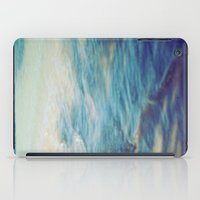 Fisherman In The Distanc… iPad Case