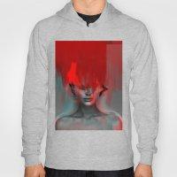Red Head Woman Hoody