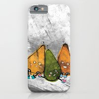 iPhone & iPod Case featuring Drunken Pears Brothers by ChiLi_biRó