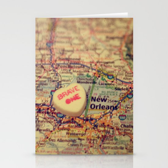 Brave One New Orleans Stationery Card