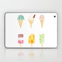 ice cream selection Laptop & iPad Skin