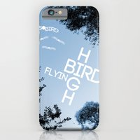 iPhone & iPod Case featuring Birds Flying High by DB & Co.