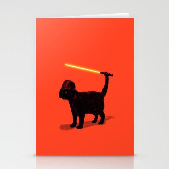 Cat Vader Stationery Card