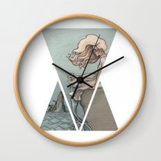 Evolution of a Mermaid Wall Clock
