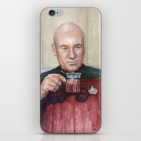 Captain Picard Earl Grey… iPhone & iPod Skin