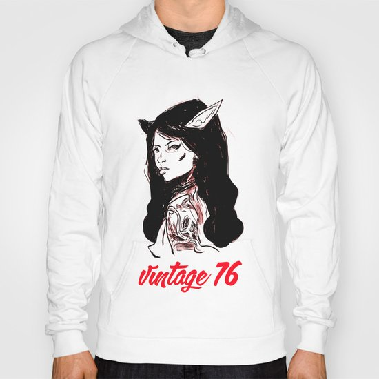 vintage 76 (wicked) Hoody