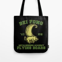 Bei Fong Academy Flying … Tote Bag