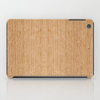 Red Oak Wood iPad Case