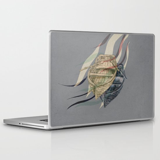 Undercurrents  Laptop & iPad Skin