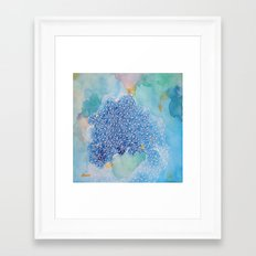 aqua series no.2 Framed Art Print