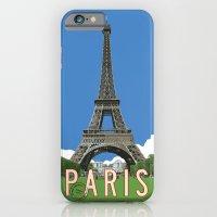 Paris Travel Poster - Vi… iPhone 6 Slim Case
