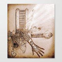 THE MUSIC MACHINE Canvas Print