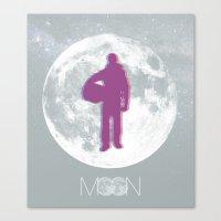 Moon - Movie Poster Canvas Print