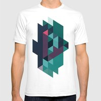 Color Story - Macrocosm Mens Fitted Tee White SMALL