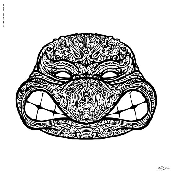Teenage Mutante Lucha Turtles Art Print