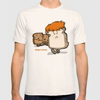 Ginger Bread Mens Fitted Tee Natural SMALL