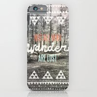 photography iPhone & iPod Cases featuring Wander by Wesley Bird