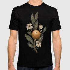 Clementine Mens Fitted Tee Black SMALL