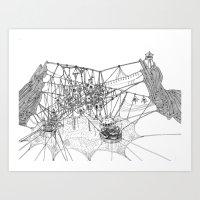 City #1: Fraboo Art Print