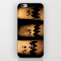 Scared Fingers iPhone & iPod Skin