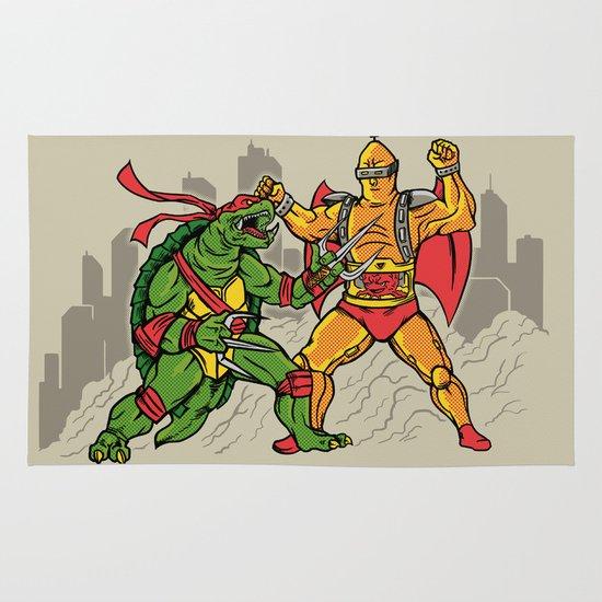 Teenage Mutant Gamera Ninja Area & Throw Rug