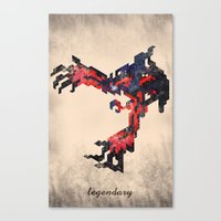 I Am Legendary Y- Geometric Canvas Print