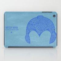 Mega Man Typography iPad Case