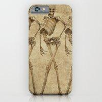 walking skeleton beauties iPhone 6 Slim Case