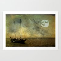 A ship 2 Art Print