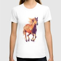 horse T-shirts featuring Horse // Boundless by Amy Hamilton