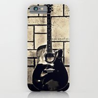 Be Your Song and Rock On in Black iPhone 6 Slim Case
