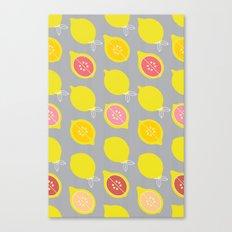 Lemony Canvas Print