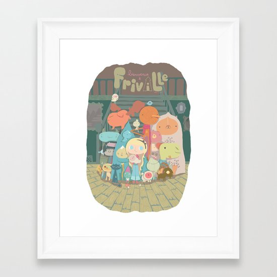 frimin Framed Art Print