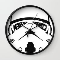 N3RD HERD Wall Clock