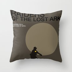 Raiders of the Lost Ark Throw Pillow