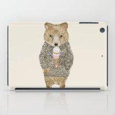 sundae bear iPad Case