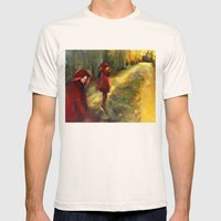 Agnes - Autumn Mens Fitted Tee Natural SMALL
