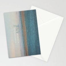 Shake the Sand From Your Shoes Stationery Cards