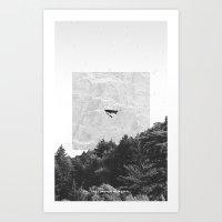 Le Passager De La Pluie Art Print