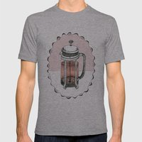 My Dearest Friend Mens Fitted Tee Athletic Grey SMALL
