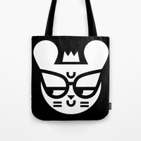 Skeptical Mouse Tote Bag