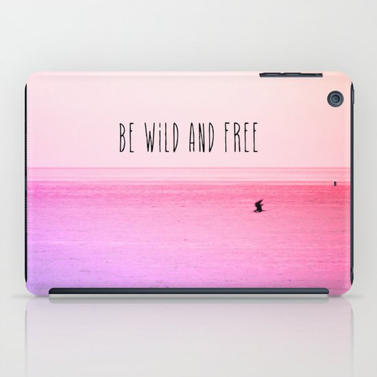 Wild and Free iPad Case