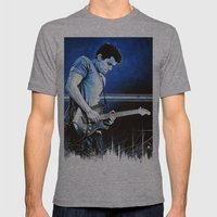 John Mayer Blues Mens Fitted Tee Athletic Grey SMALL