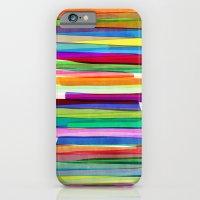 Colorful Stripes 1 iPhone 6 Slim Case