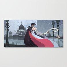 Moonlight Romance Canvas Print